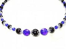 Náhrdelníky - blue shine - 1453567