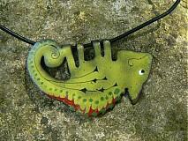 Náhrdelníky - chameleon - 146238