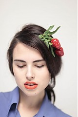 Ozdoby do vlasov - Jahoda sweet by Hogo fogo - 1463809