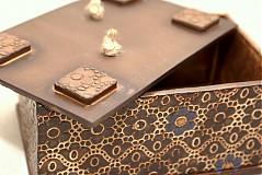 Krabičky - Škatuľa čipková - 1463942