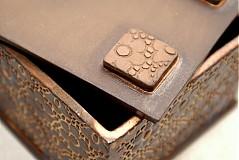 Krabičky - Škatuľa čipková - 1463949
