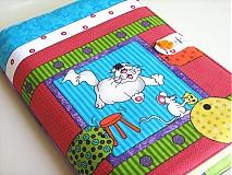 Papiernictvo - To je můůůj sýr - veselý obal na zápisník, knihu.. - 1469726