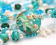 Sady šperkov - Modrá lagúna - 1471886