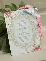 Papiernictvo - Svadobné oznámenie Victoria - 1480423