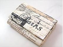 Peňaženky - Paříž - elegantní peněženka  - 1480630