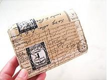 Peňaženky - Paříž - elegantní peněženka  - 1480632