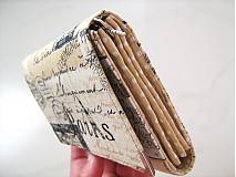 Peňaženky - Paříž - elegantní peněženka  - 1480633
