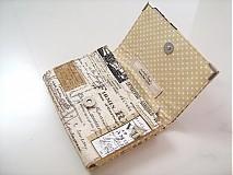 Peňaženky - Paříž - elegantní peněženka  - 1480634
