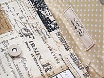 Peňaženky - Paříž - elegantní peněženka  - 1480638