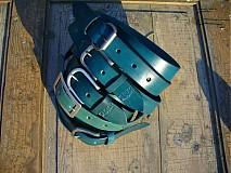 Opasky - handmade-KERTAG® kožený opasek COLOR  - 1482968