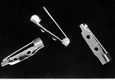 - Broš.mostík 25mm-strieb-20ks - 1486679