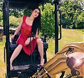 Šaty - erika red dress - 1486984