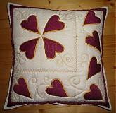 Úžitkový textil - Vankúš elegantný - 1493041