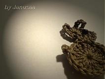 Galantéria - Detská brošnička - zajac - 1493461
