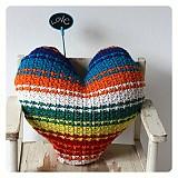 Dekorácie - I ♥ love svetrúšik (na objednávku) - 1500180