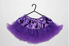 Detské oblečenie - TUTU suknička - 1509836