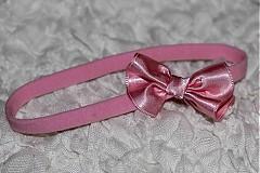 - ružová s mašličkou - 1510278