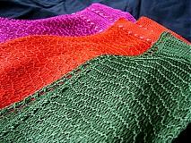 Šály - farebné šáliky - 1516340