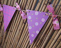 Tabuľky - vlajková girlanda - 1524374