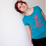 Tričká - Foxy lady (flex potlač, krátke) - 1533083