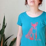 Tričká - Foxy lady (flex potlač, krátke) - 1533084