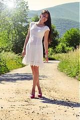 Šaty - Amalia white dress - 1535720