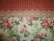 Úžitkový textil - Obrus a čipkou - 1539071