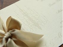 Papiernictvo - Svadobné oznámenie Leila - 1547939