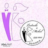 Papiernictvo - Svadobné razítko 7 - 1554861