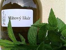 Potraviny - mätový likér - 1556676