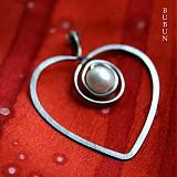Náhrdelníky - Perlička v srdci - 1557589