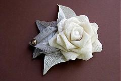 Odznaky/Brošne - brošnička ruža - 1562657