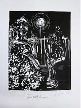 Grafika - Tma pod lampou - 1571970