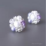 Náušničky Lilac sugar...