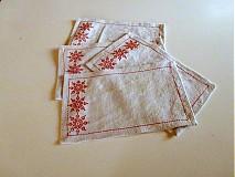Úžitkový textil - Na ľudovú nôtu - 1590995