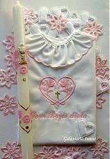 Detské oblečenie - Krstová košieľka K42 pre dievčatko - 1592471