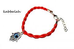 Náramky - kabbalah náramok originál ruka - 1611370