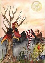 - Gothic Faery - The Brat - Odznak VEĽKÝ - 162424