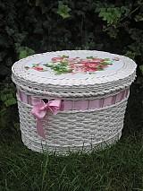 Košíky - Bílá romantika.... - 1630213