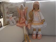 Bábiky - Tina s medvedíkom a kabelou - 1633523