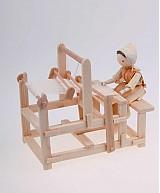 Dekorácie - Ženuška s krosnami - 1636990