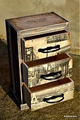 Krabičky - Dávny Paríž - 1642940