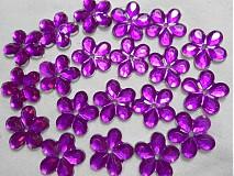 Galantéria - Kvetina našívacia 11mm-1ks - 1650055