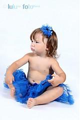 Ozdoby do vlasov - královská modrá - 1658419