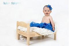 Ozdoby do vlasov - královská modrá - 1658420