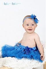 Ozdoby do vlasov - královská modrá - 1658421