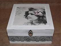 Krabičky - Retro šperkovnica - 1660726