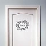 Tabuľky - Samorast - ceduľka na dvere - 1663023