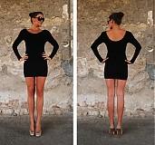 Šaty - Čierna klasika - 1667313