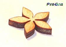 Polotovary - kvetinečky - sada 20 ks - 1668456